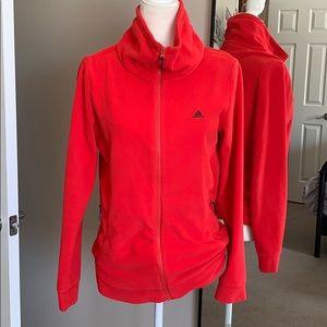 Adidas fleece jacket!